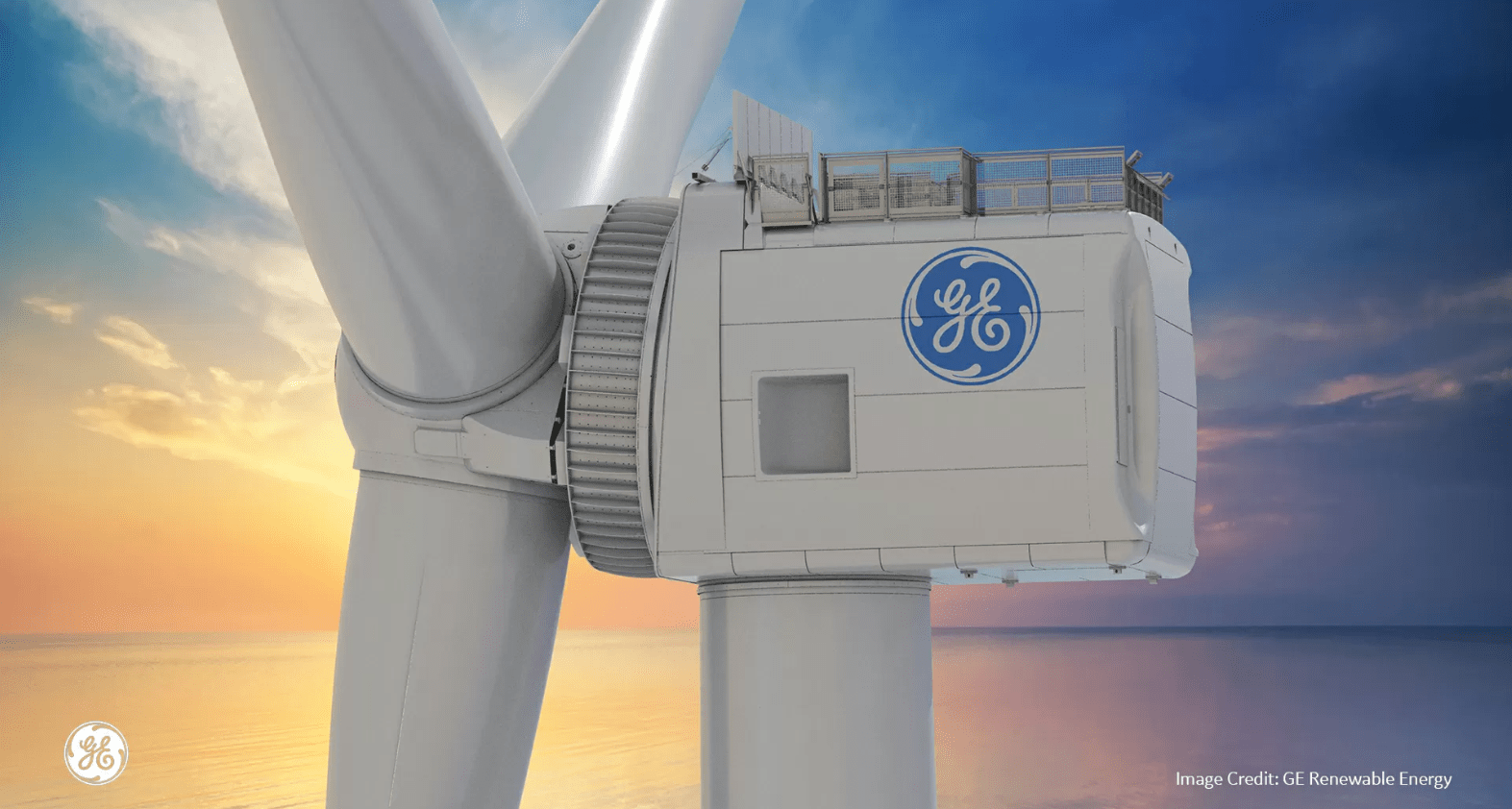 Haliade x 12 mw windmolen van General Electric